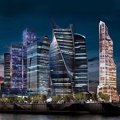 Башни Москва Сити